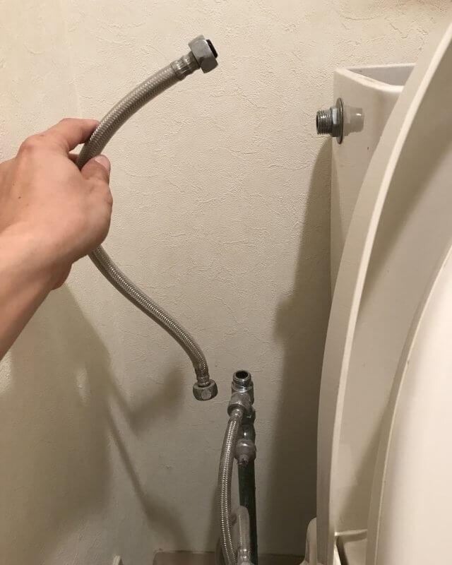 【水のトラブル】トイレタンク内部品交換作業③の画像
