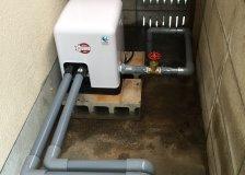 水のトラブル(井戸ポンプの交換工事)の画像