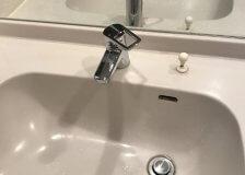 水のトラブル(洗面所蛇口水漏れ修理交換⑩)の画像