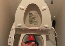 【水のトラブル】トイレの詰まり除去作業②の画像