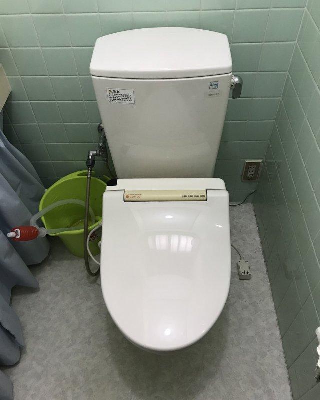 【水のトラブル】トイレ交換作業①の画像