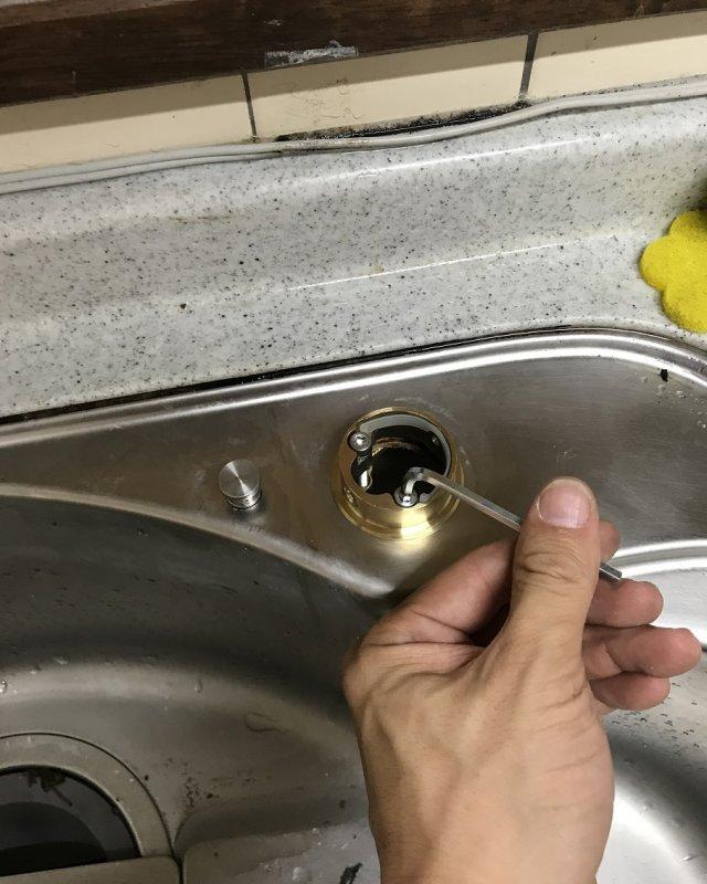 【水のトラブル】台所蛇口交換作業⑥の画像