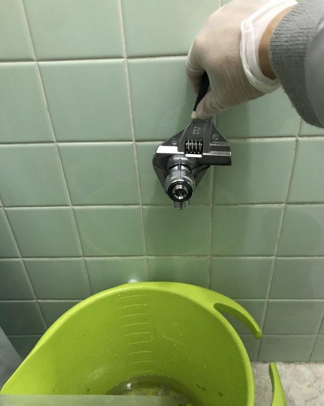 【水のトラブル】トイレ交換作業⑦の画像