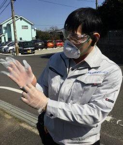 九州水道修理サービスの新型コロナウイルス対策 防護仕様