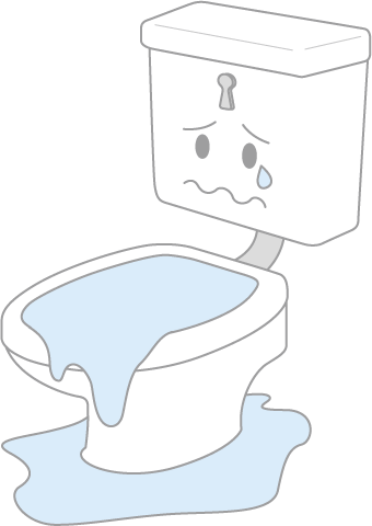 の 対策 トイレ 逆流