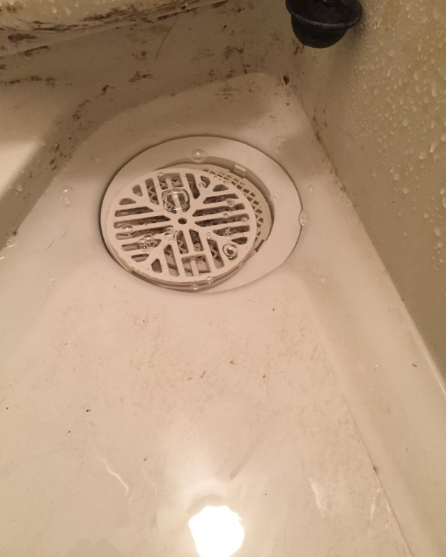 水のトラブル(浴室詰まり除去修理)の画像
