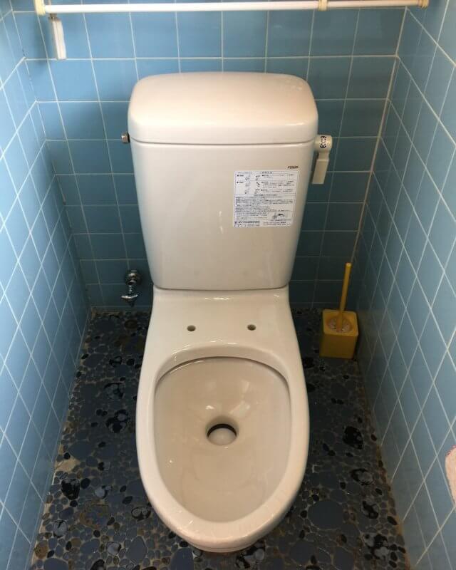 水のトラブル(トイレの水漏れ修理交換)の画像