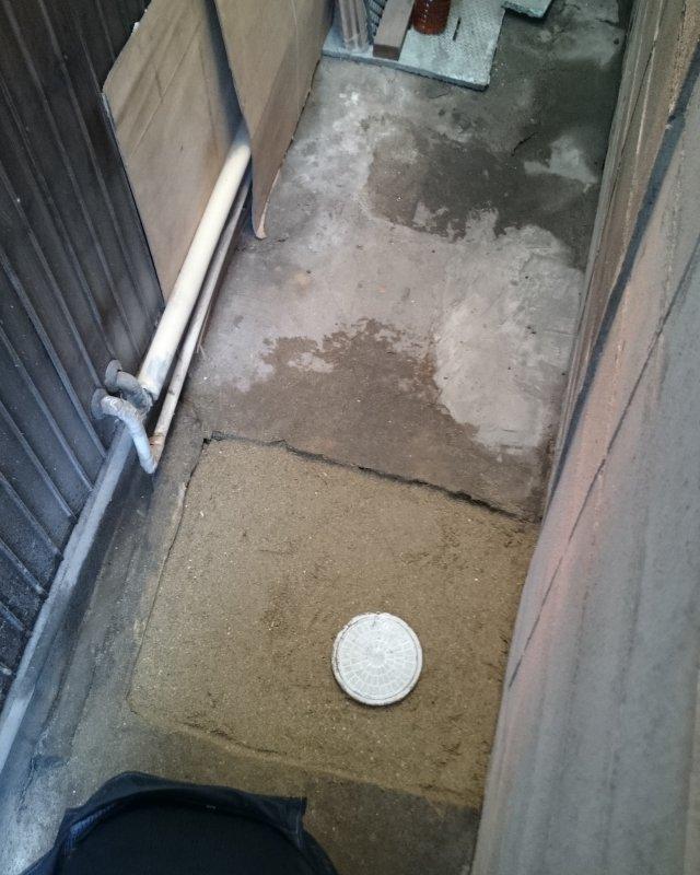 水のトラブル(排水管工事)の画像