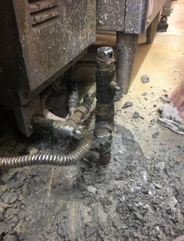 水のトラブル(給湯管の水漏れ修理工事③)の画像