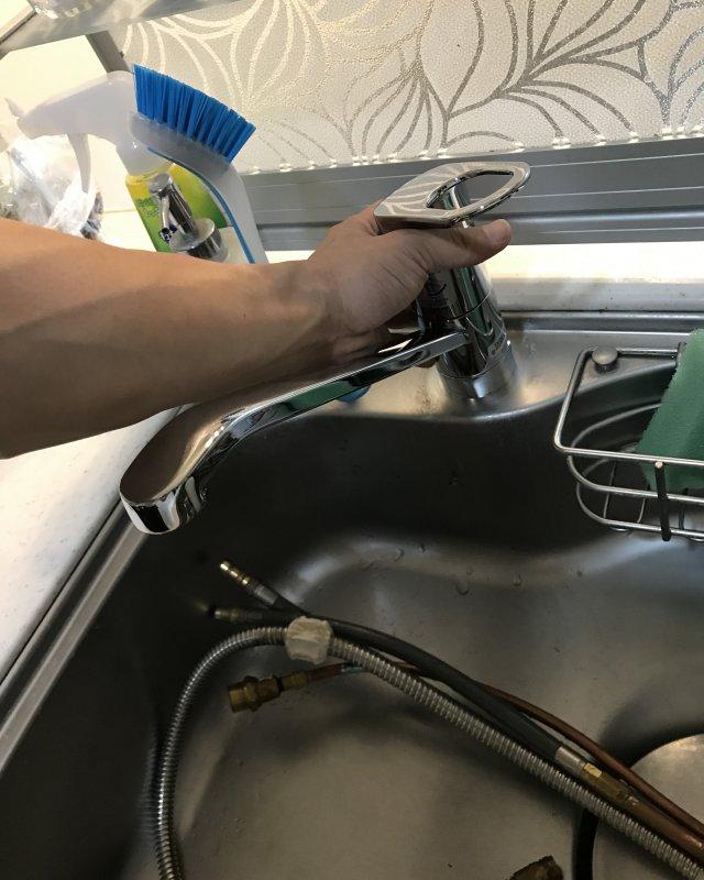 水のトラブル(蛇口の水漏れ修理④)の画像