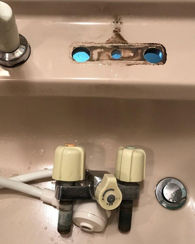 水のトラブル(蛇口の水漏れ修理③)の画像