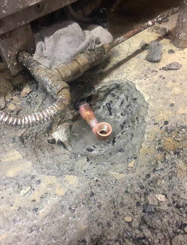 水のトラブル(給湯管の水漏れ修理工事⑤)の画像