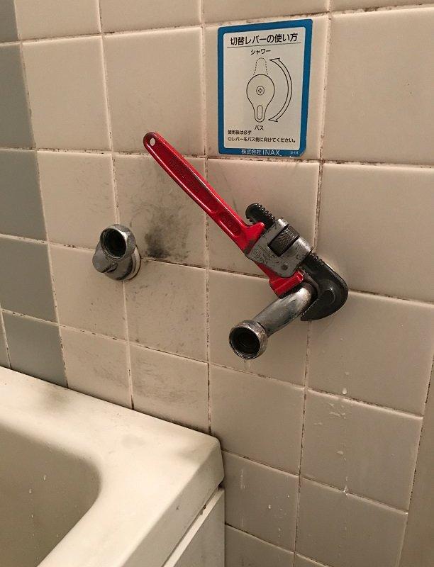 水のトラブル(蛇口の水漏れ修理⑤)の画像