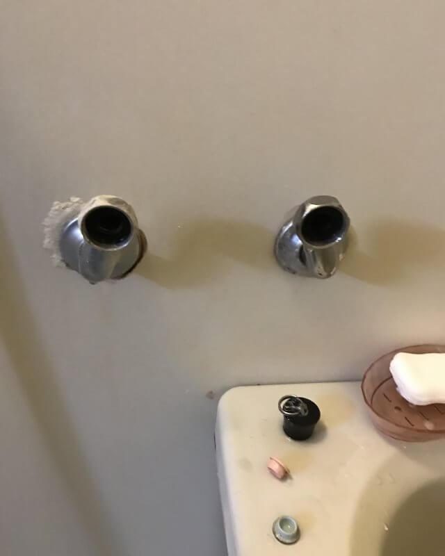 水のトラブル(蛇口の水漏れ修理②)の画像