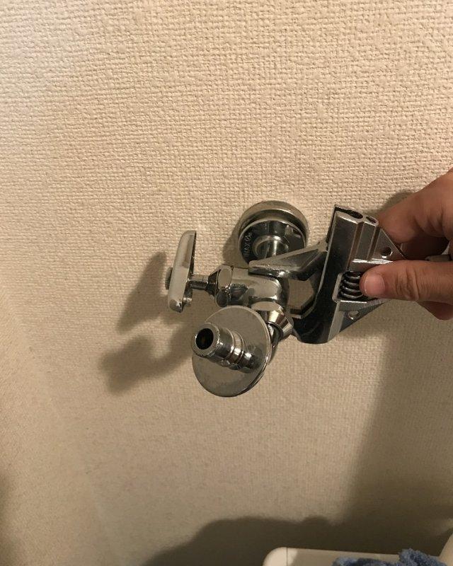 水のトラブル(洗濯場蛇口の水漏れ修理②:福岡)の画像