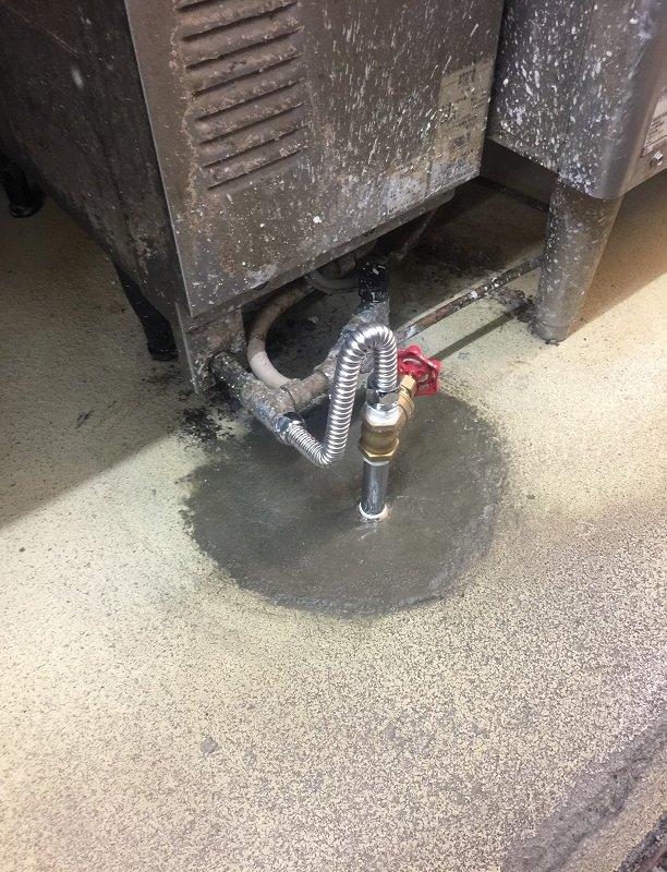水のトラブル(給湯管の水漏れ修理工事⑦)の画像