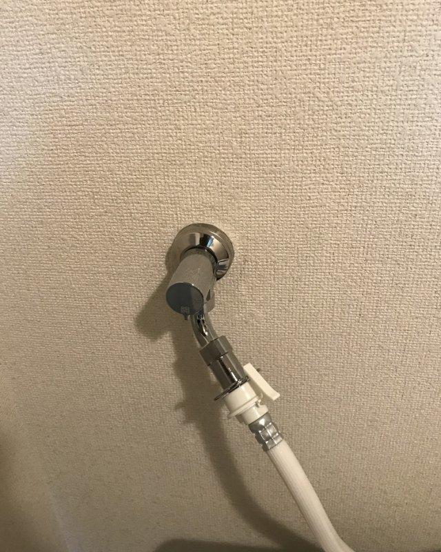 水のトラブル(洗濯場蛇口の水漏れ修理④:福岡)の画像