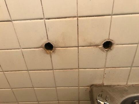 水のトラブル(浴室蛇口水漏れ修理交換③)の画像