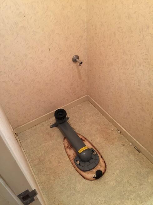 水のトラブル(トイレ水漏れ修理交換③)の画像