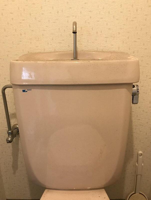 水のトラブル(トイレ水漏れ修理交換④)の画像