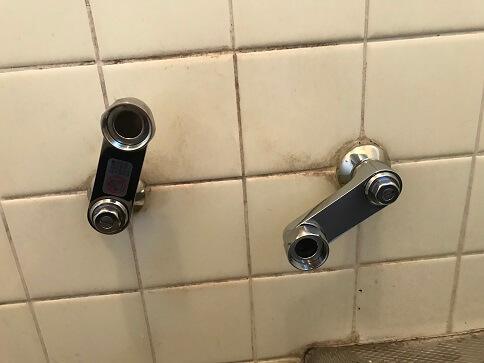 水のトラブル(浴室蛇口水漏れ修理交換④)の画像