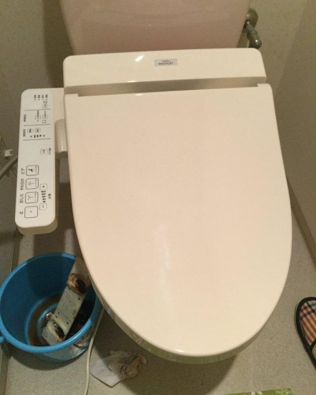 水のトラブル(トイレ水漏れ修理交換⑤)の画像