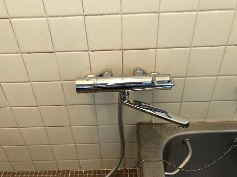 水のトラブル(浴室蛇口水漏れ修理交換⑤)の画像