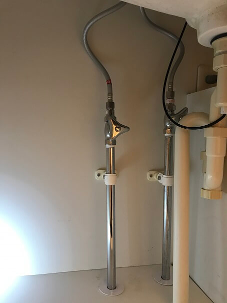 水のトラブル(洗面所蛇口水漏れ修理交換⑨)の画像