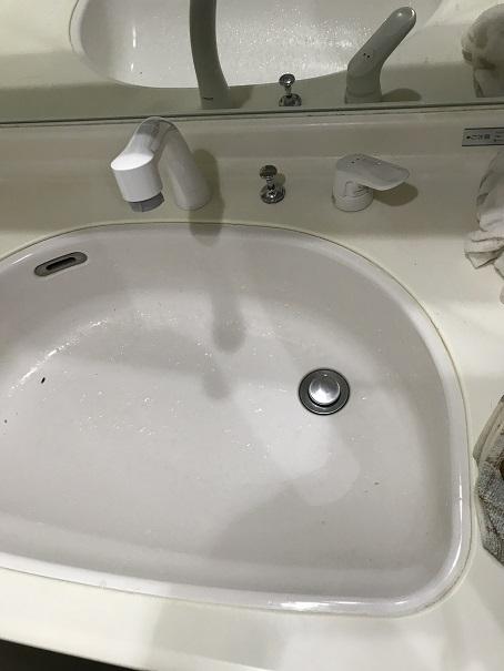 水のトラブル(洗面所蛇口水漏れ修理交換⑧)の画像