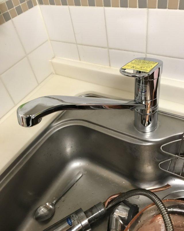 【水のトラブル】台所水漏れ交換作業⑤の画像