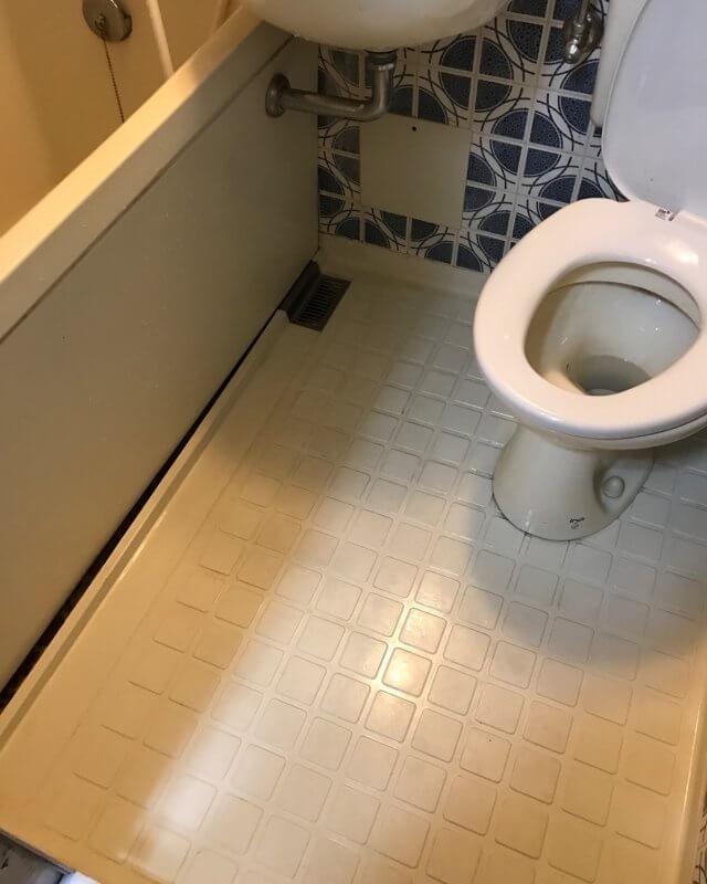【水のトラブル】浴室詰まり修理作業⑤の画像