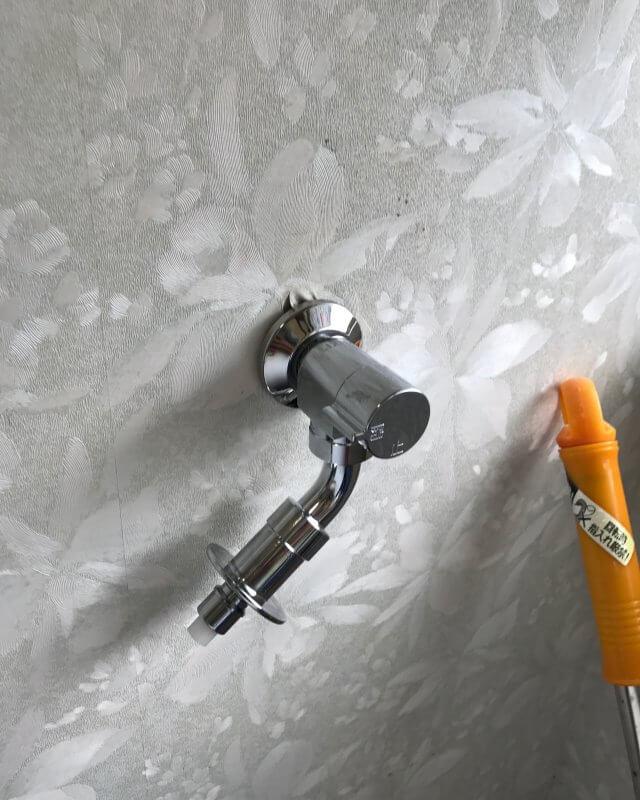 【水のトラブル】洗濯場蛇口水漏れ修理作業⑤の画像