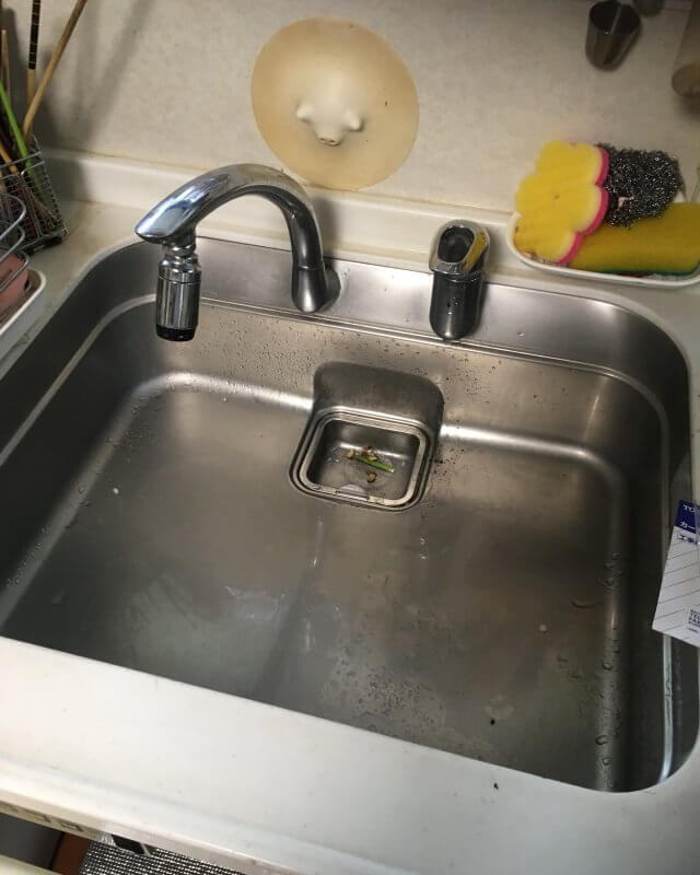 【水のトラブル】台所水漏れ部品交換作業⑤の画像