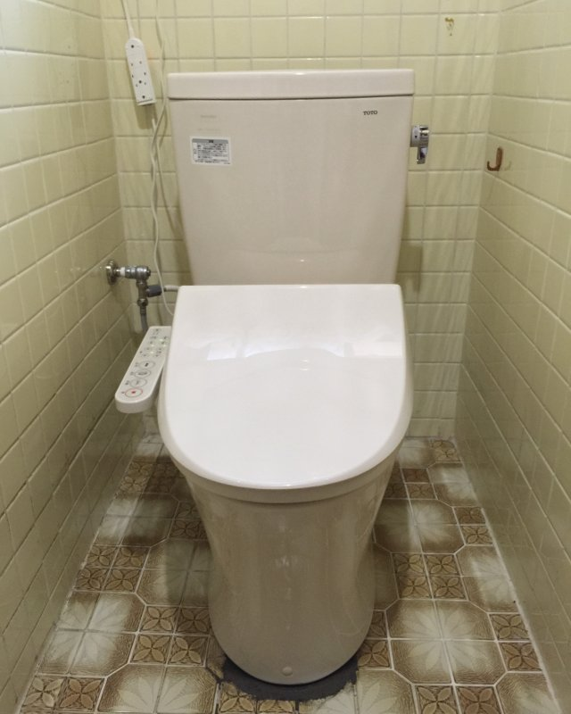 【水回りキャンペーン】トイレ交換作業⑥の画像