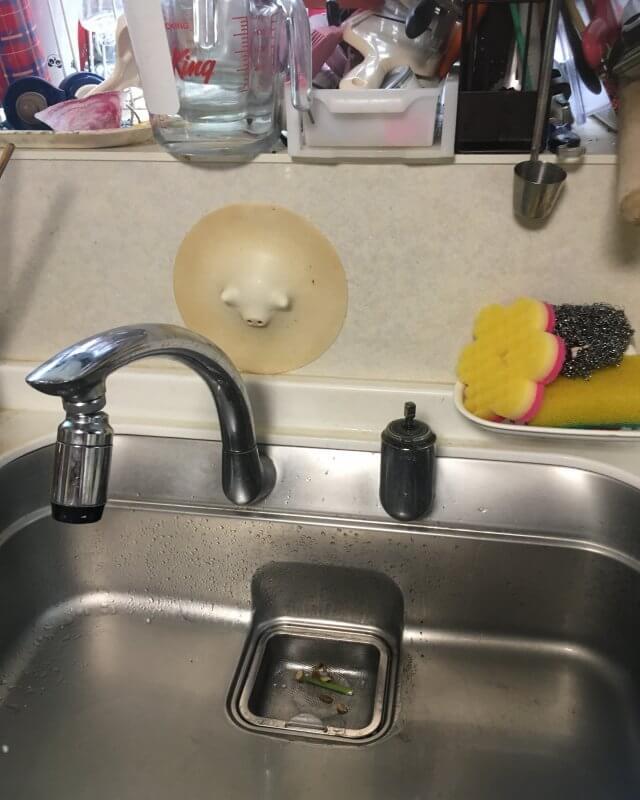 【水のトラブル】台所水漏れ部品交換作業②の画像