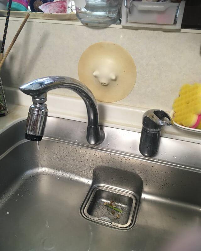 【水のトラブル】台所水漏れ部品交換作業①の画像