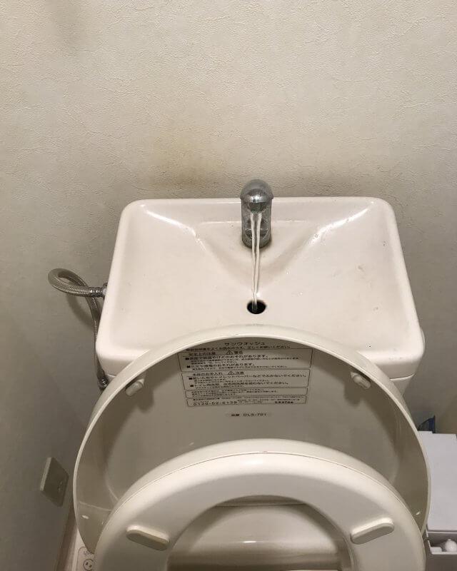 【水のトラブル】トイレタンク内部品交換作業①の画像