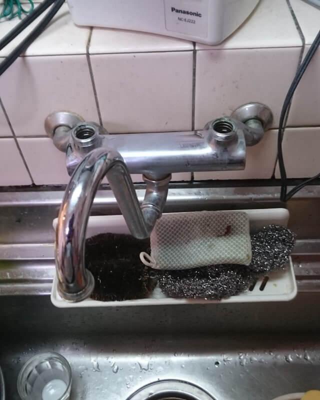 【水のトラブル】台所水漏れ部品交換作業③の画像