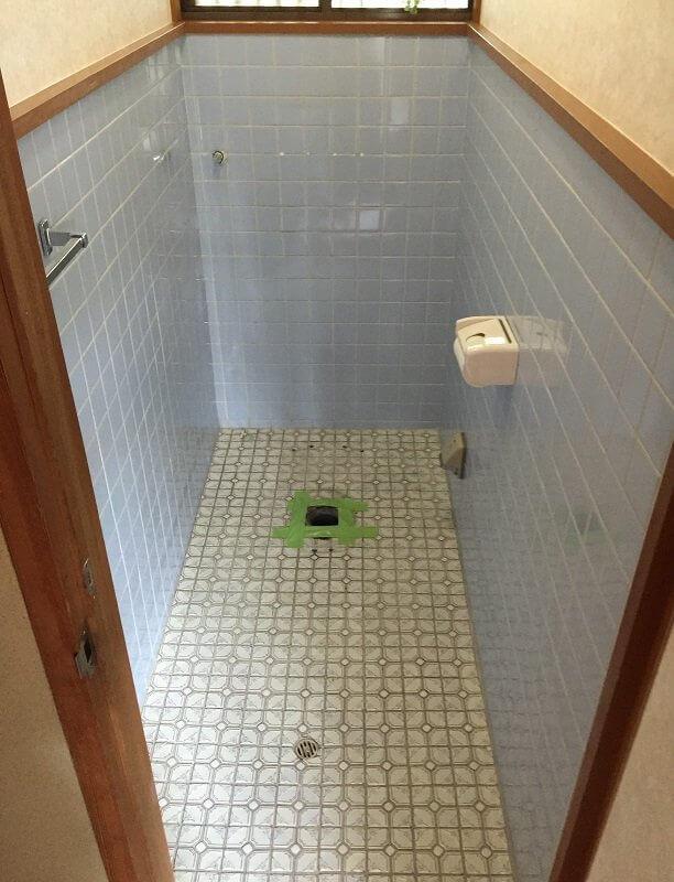 【水回りリフォーム】トイレ内装工事②