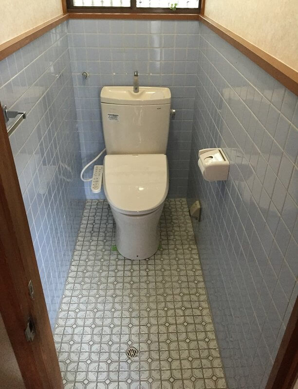 【水回りリフォーム】トイレ内装工事①