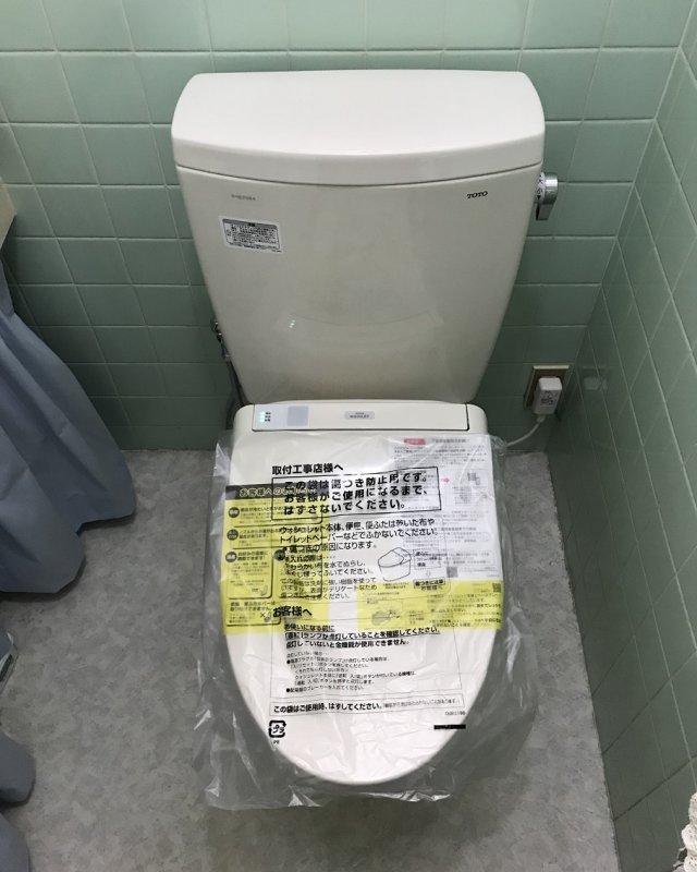 【水のトラブル】トイレ交換作業⑪の画像