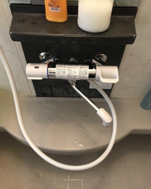 【水のトラブル】浴室蛇口交換作業⑦の画像