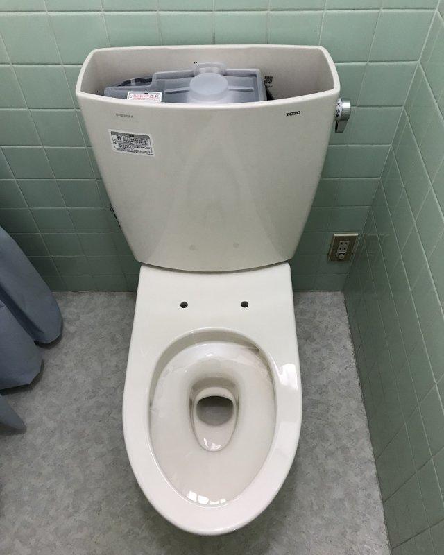 【水のトラブル】トイレ交換作業⑨の画像