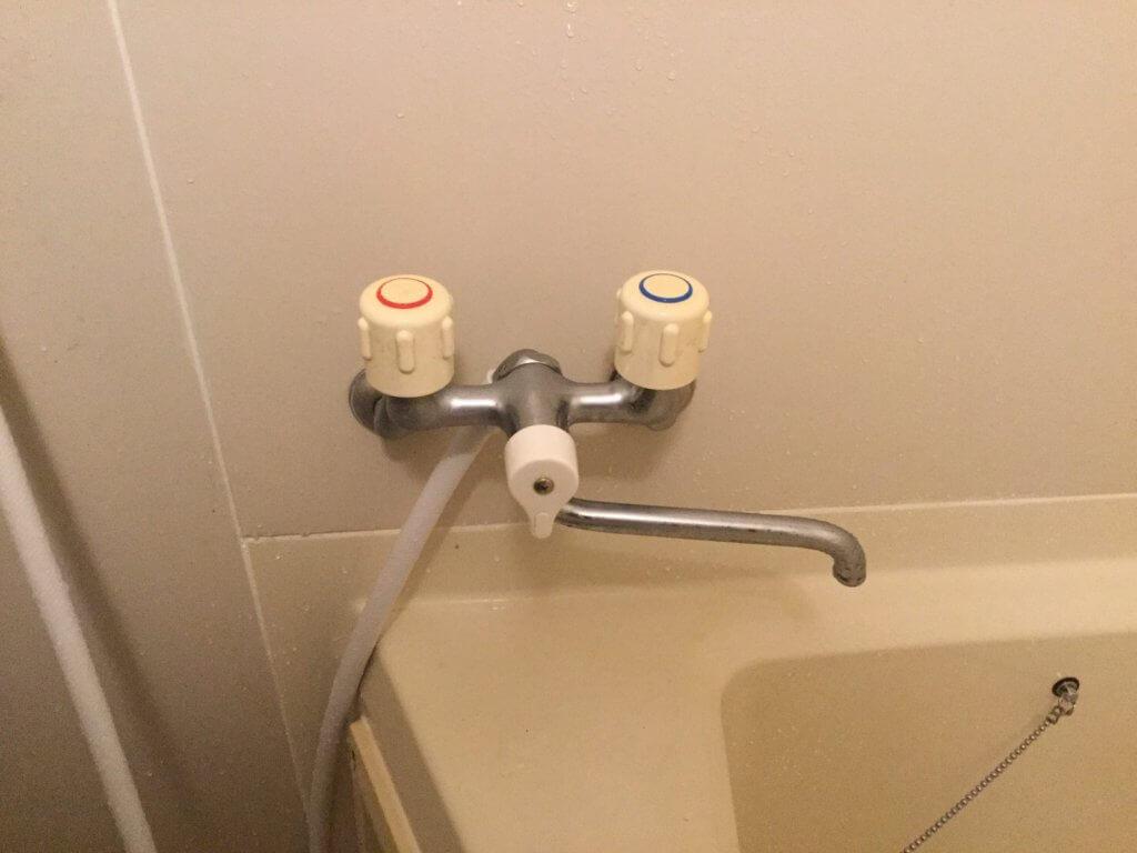 浴室混合水栓 壁付2ハンドルタイプ 九州水道修理サービス